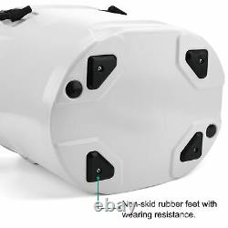 23QT Quart Roto-Molded Insulated Cooler Ice Box Portable Ice Chest for Camping