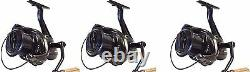 3 X Sonik Vader X 8000 Big Pit Carp Reels with spare spoos NEW Fishing