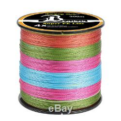 300-1000M Super Strong PE Spectra Braided Sea Fishing Line 4/8 Strands 12-100LB
