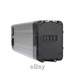 36V 10Ah Silver Fish Lithium Li-ion Battery for 350W Electric Bicycles E-Bike