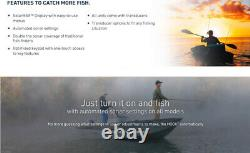 4 Freshwater Fish Finder with GPS Saltwater Boat Fishing Depth Tracker Locator