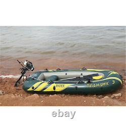 4HP 4 Stroke Outboard Motor Fishing Boat Engine with Air Cooling System CDI New