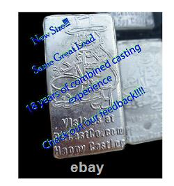 66++ LB 1 pound Lead Ingots BULLETS, FISHING WEIGHTS, RELOADING SINKERS FREE S&H