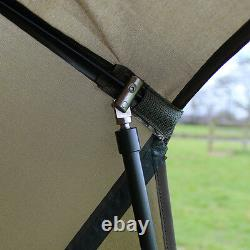 Abode Night & Day 50 Oval Umbrella Carp Fishing Session Brolly