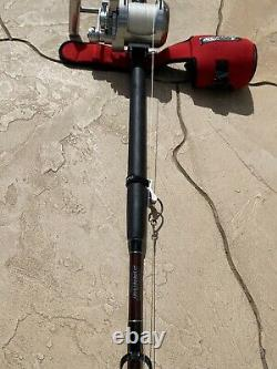 Accurate 30T ATD Platinum Reel with a 2X4 Super Seeker Rod Combo