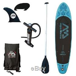 Aqua Marina Vapor 10' 10 SUP Inflatable Stand Up Paddle Board with 3PC Paddle