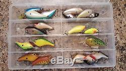 Assorted Lot of Fishing Lures, Crank Baits and Hooks Over 100+ pieces