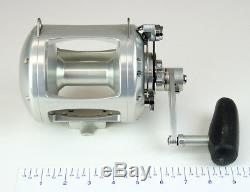 Avet EXW 50/2 Two-Speed Lever Drag Big Game Reel Color Silver