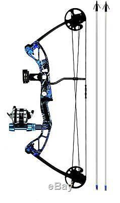 Bruin Outdoors Angler Compound Bowfishing Kit Ready to Fish