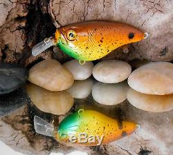Custom Painted Lucky Cast Lures, Mixed Lot of 86 each