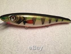 DK Musky Lures Fifty Finder Brushed Perch New