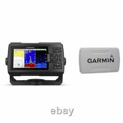 Garmin STRIKER Plus 5cv Fishfinder with GT20-TM Transducer and Protective Cover