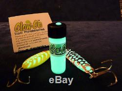 Glow-On ORIGINAL Super Glow Paint for Gun Night Sights and Fishing Lures 4.6ml