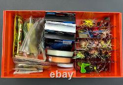 HUGE BASS FISHING LOT Lures Crankbaits, Poppers, Spinners, Jerks, Spoons, Buzz +