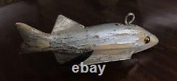 Heddon Dowagiac Bat Wing Ice Spearing Decoy With Wood Tail