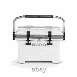 Igloo 00049829 IMX 24 Qt. Heavy Duty Injected Molded Construction Cooler, White