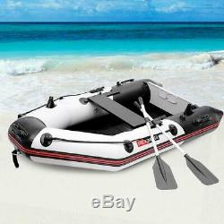 Inflatable Dinghy Boat 2 Person 7.5ft Fishing Tender Rafting High Quality Water