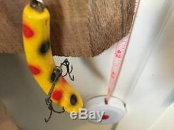 Large Lot 50 Old Vintage Fishing Lures Tackle Collection Mosty Helins Flatfish