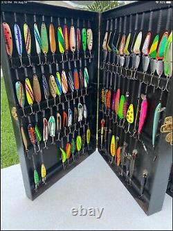 Large Lot of Vintage Fishing Lures. In Box AS FOUND