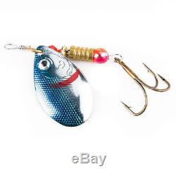 Lot 30pcs Kinds of Fishing Lures Crankbaits Hooks Spinner Baits Fish Tackle