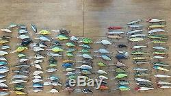 Lot of 120 crankbait fishing lure lucky craft speed trap norman smithwick