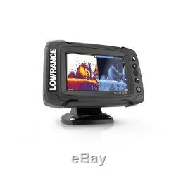 Lowrance 055-12421-001 Elite-5 Ti Touch M/H/455/800 HDI TransomMountTransducer
