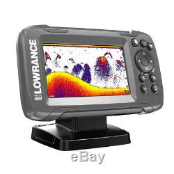 Lowrance HOOK²-4x 4 GPS Bullet Finder withTrack Plotter & Xducer-14014-001
