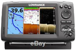 Lowrance Hook 7 withHDI transducer and c-map insight pro lake map chip. Sonar/GPS