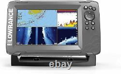 Lowrance Hook2-7 with 7 Screen TripleShot Transducer and US Maps 000-14293-001