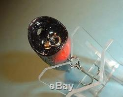 Mann's Glow In The Dark Tail Loudmouth Chug N Spit Topwater Lure On Black Nice