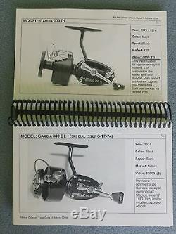 Mitchell Collector's Value Guide By Dennis Roberts Mitchell Spinning Reel Book