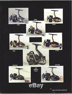 Mitchell Collectors Reference Guide Dennis Roberts Signed Fishing Spinning Reels