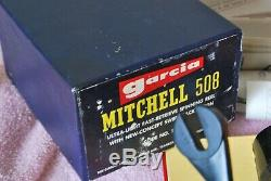 Museum Grade Mitchell 508 Bag Spool Spool Case Beautiful Box BAG PAPERS 508
