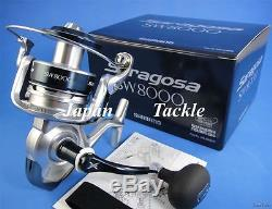 New Shimano Saragosa Sw 8000 Spinning Reel Srg-8000sw 1-3