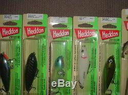 Old fishing lures Heddon Spit N Image RARE Color Collection Of 8 NIB X9250 LOOK