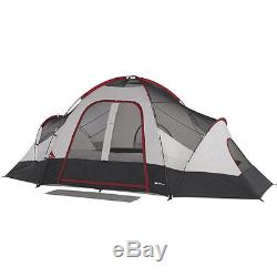 Outdoor Tent 8-Person 2 Rooms Camping Family Cabin Shelter Hiking Fishing Sleep