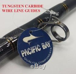Penn Carnage Bluewater 7' 10 30-80lb Wire Line Conventional Rod Carbw3080c80wl