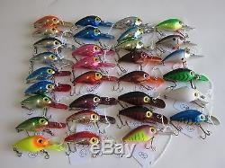 Pre Rapala Storm Magnum Wiggle Warts- Lot Of 51