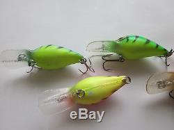 Pre Rapala Storm Wiggle Wart Begal Tiger Collection