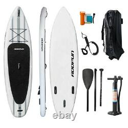 Premium 10'6 Inflatable StandUp Paddle Board Surfboard 6 Thick withAccessories
