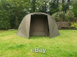Quest MK2 2 Man Bivvy Carp Fishing Overnight Shelter Tackle 1 Brolly System Pram
