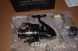 Shimano Twin Power Sw4000xg Spinning Reel, Tp4000swbxg