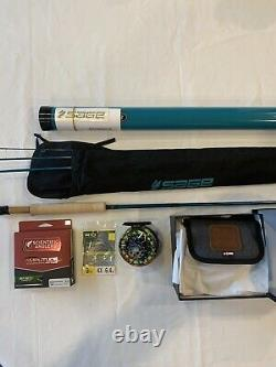 Sage X 590-4 Special Edition Fly Rod With Abel SDF DeYoung 4/5 Reel