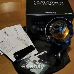 Shimano TwinPower SW10000PG Spinning Reel Twin Power 8000 Excellent withBox