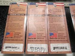 Stanford Lures Huge Lot Of Custom U. S. A. Handcrafted Cedar, Hand Painted Tuned