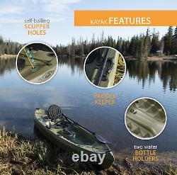 Top selling Navy 10 ft Fishing Kayak (Paddle Included), 45 days max Delivery