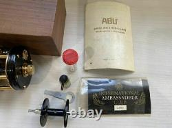 Used Abu Ambassador 5000CDL Bait Reel With Box Very Rare Good Condition