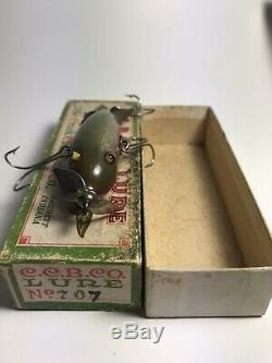 Vintage Creek Abs River Lure. Extremely Rare Lure Three Hooker