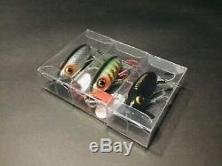Vintage Fishing Lures, Lot of 3 (WW2 Arbogast Jitterbugs)