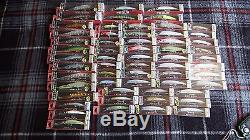 Yo-Zuri Lures. Huge Lot of 125 Lures. Floaters, Divers, Suspending, Sinking
